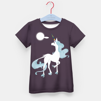 Thumbnail image of This is the last unicorn Kid's t-shirt, Live Heroes