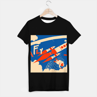 Thumbnail image of Fly T-shirt regular, Live Heroes