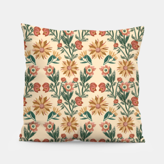 Thumbnail image of Folk Floral Pillow, Live Heroes