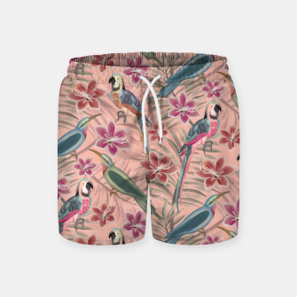 Thumbnail image of Parrot Pink Swim Shorts, Live Heroes