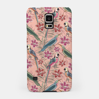Thumbnail image of Parrot Pink Samsung Case, Live Heroes