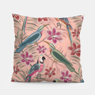 Thumbnail image of Parrot Pink Pillow, Live Heroes