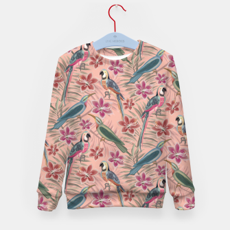 Thumbnail image of Parrot Pink Kid's sweater, Live Heroes
