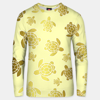 Miniaturka Golden Sea Turtles Unisex sweater, Live Heroes
