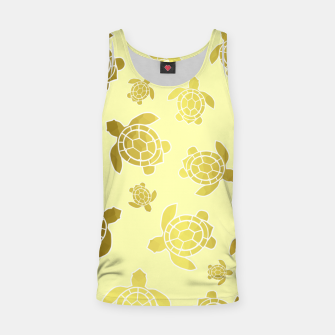 Thumbnail image of Golden Sea Turtles Tank Top, Live Heroes