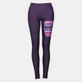 Thumbnail image of Get Awesome Vibes Leggings, Live Heroes
