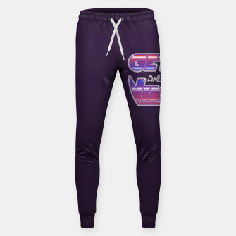 Thumbnail image of Get Awesome Vibes Sweatpants, Live Heroes