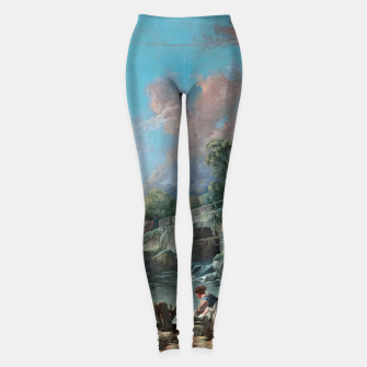 Thumbnail image of Washerwomen by François Boucher Leggings, Live Heroes