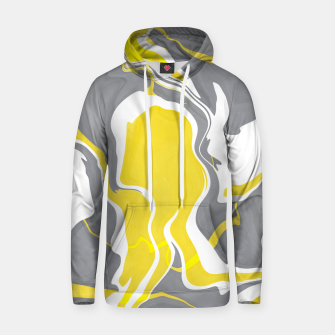 Thumbnail image of Marbled yellow and gray 67 Sudadera con capucha, Live Heroes