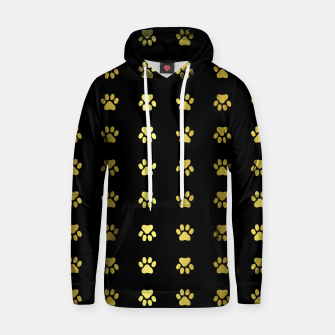 Miniatur Gold Puppy Paws Hoodie, Live Heroes