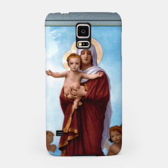 Imagen en miniatura de Our Lady of the Angels by William-Adolphe Bouguereau Colorized Old Masters Classical Art Reproduction Samsung Case, Live Heroes