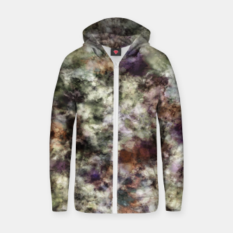 A ghostly reminder Zip up hoodie thumbnail image