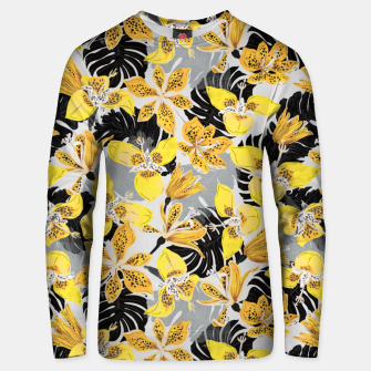 Yellow tropical bloom 89 Sudadera unisex thumbnail image