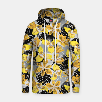 Yellow tropical bloom 89 Sudadera con capucha thumbnail image