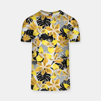Yellow tropical bloom 89 Camiseta thumbnail image