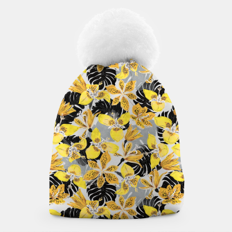 Yellow tropical bloom 89 Gorro thumbnail image