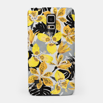 Yellow tropical bloom 89 Carcasa por Samsung thumbnail image