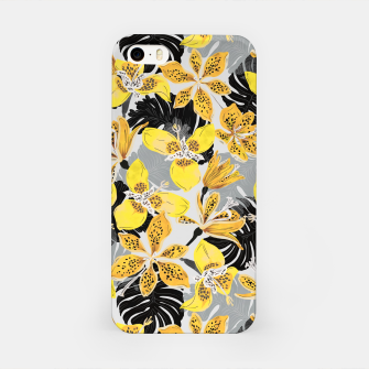 Miniatur Yellow tropical bloom 89 Carcasa por Iphone, Live Heroes