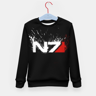 Thumbnail image of n7 Kid's sweater, Live Heroes