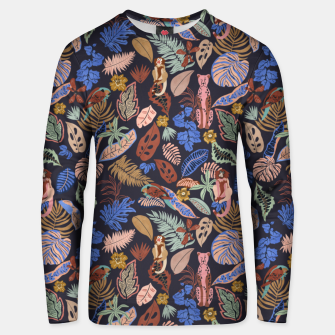 Miniatur Animals in the colorful jungle 63 Sudadera unisex, Live Heroes
