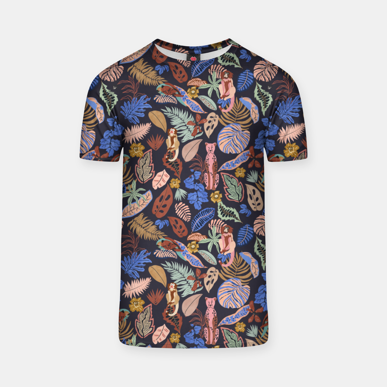 Image of Animals in the colorful jungle 63 Camiseta - Live Heroes