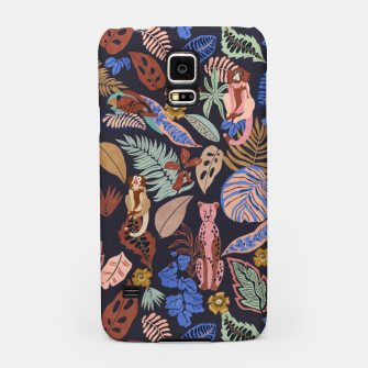 Animals in the colorful jungle 63 Carcasa por Samsung thumbnail image