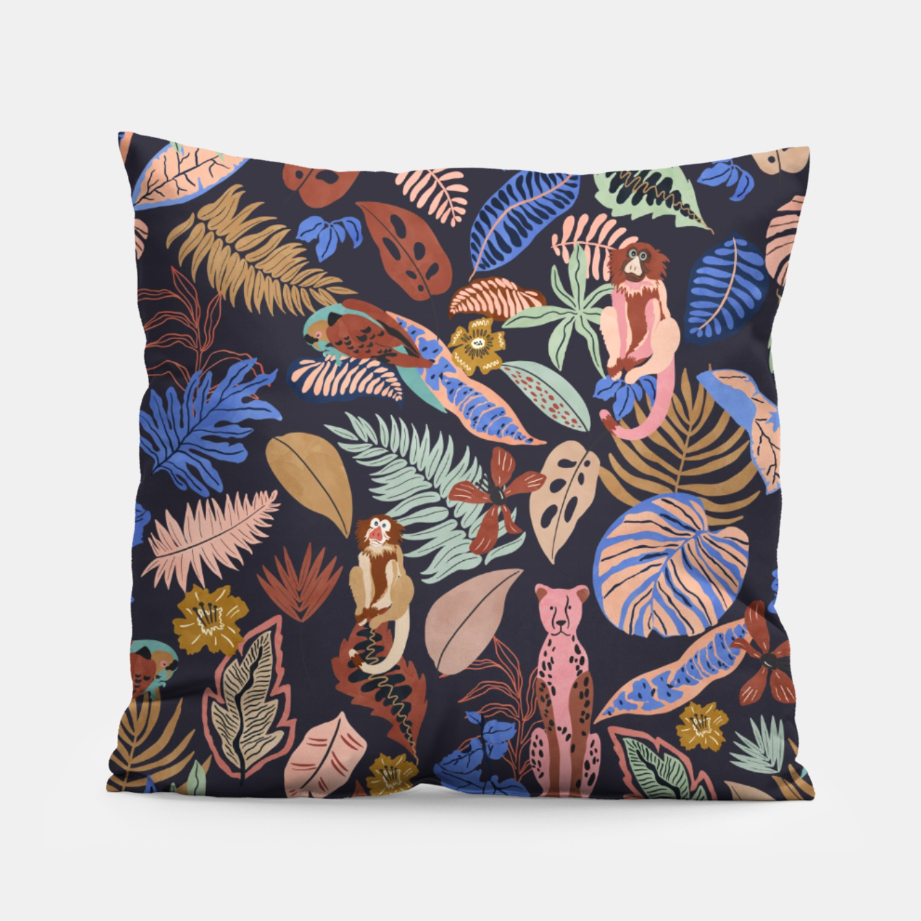 Image of Animals in the colorful jungle 63 Almohada - Live Heroes