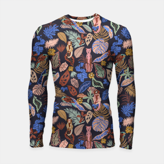Thumbnail image of Animals in the colorful jungle 63 Longsleeve rashguard, Live Heroes