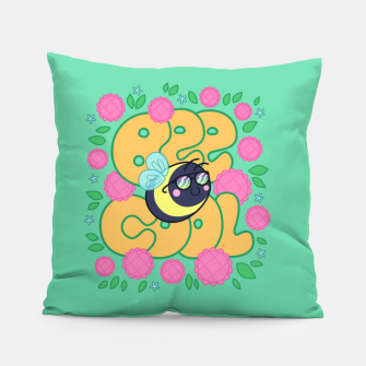 Thumbnail image of Bee Cool Pillow, Live Heroes