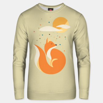 Thumbnail image of Foxy felt with the heart Unisex sweater, Live Heroes