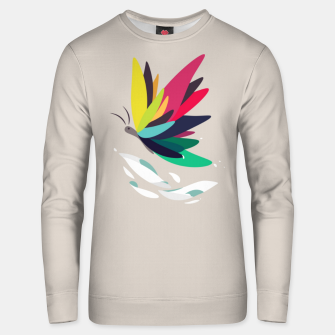 Thumbnail image of Precious secret of the butterfly Unisex sweater, Live Heroes