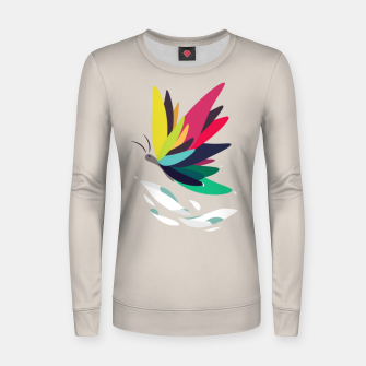 Thumbnail image of Precious secret of the butterfly Women sweater, Live Heroes