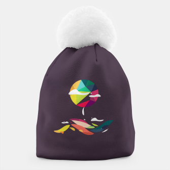 Thumbnail image of Landscape sun Beanie, Live Heroes