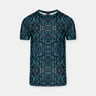 Thumbnail image of Fancy Stone Mosaic Print Pattern T-shirt, Live Heroes