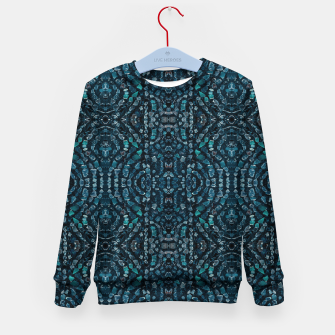 Thumbnail image of Fancy Stone Mosaic Print Pattern Kid's sweater, Live Heroes