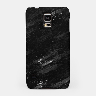 Miniature de image de painting texture abstract background in black and white Samsung Case, Live Heroes