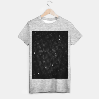 Miniature de image de painting texture abstract background in black and white T-shirt regular, Live Heroes