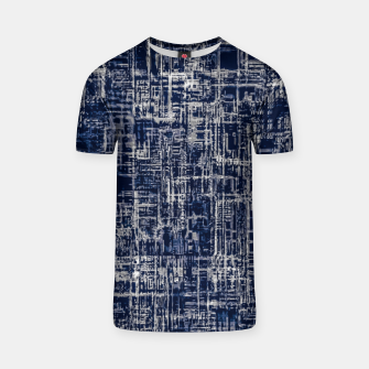 Imagen en miniatura de geometric line art texture abstract background in black and white T-shirt, Live Heroes