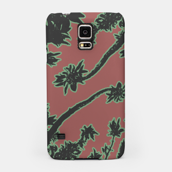 Thumbnail image of Tropical Style Floral Motif Print Pattern Samsung Case, Live Heroes