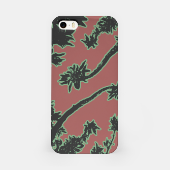 Thumbnail image of Tropical Style Floral Motif Print Pattern iPhone Case, Live Heroes