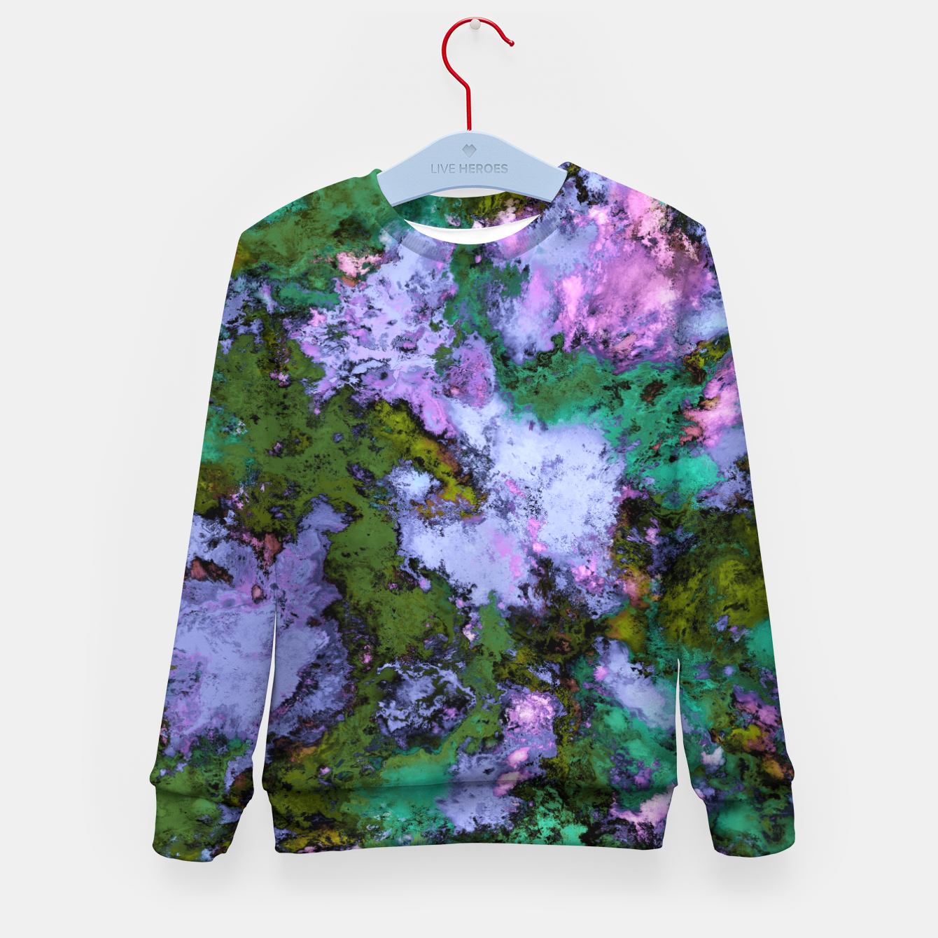 Image of Scatter Kid's sweater - Live Heroes