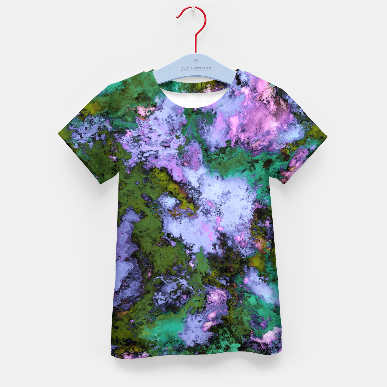 Image of Scatter Kid's t-shirt - Live Heroes