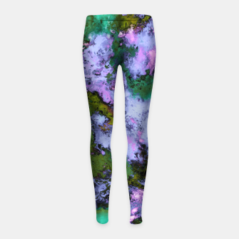 Thumbnail image of Scatter Girl's leggings, Live Heroes