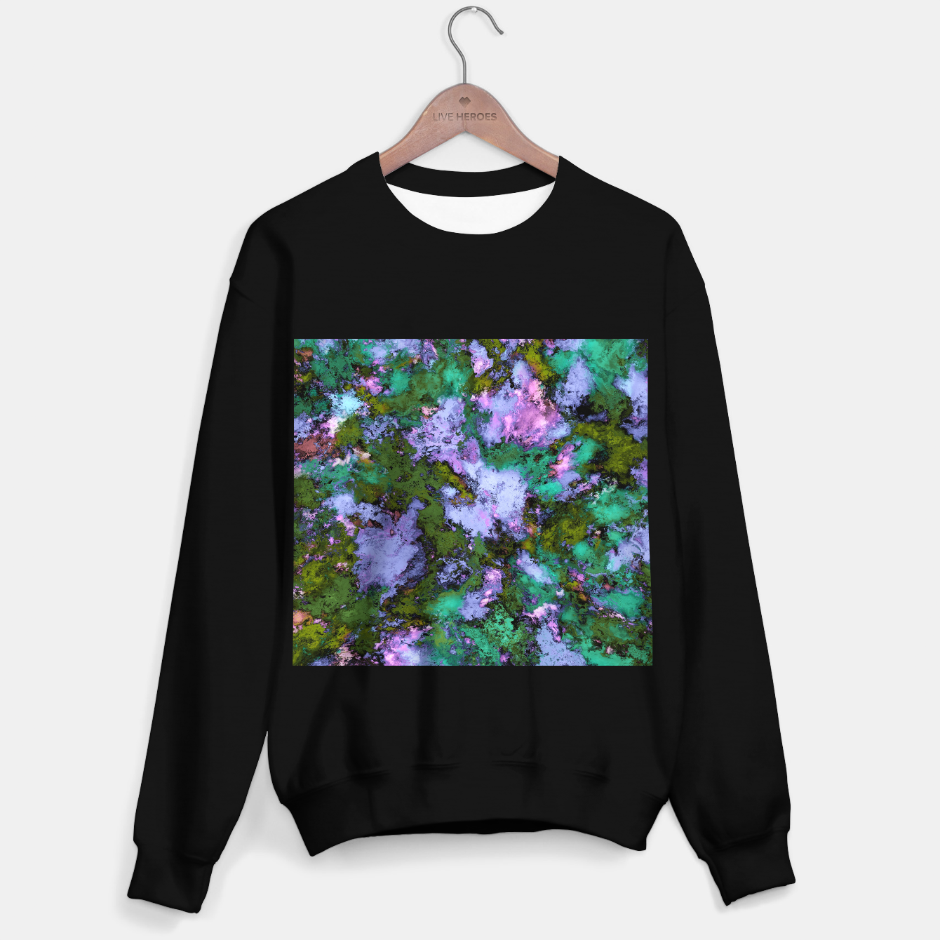 Image of Scatter Sweater regular - Live Heroes