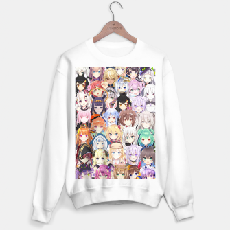 Thumbnail image of Hololive Vtubers | Holomyth Vtuber Members  Sweater regular, Live Heroes