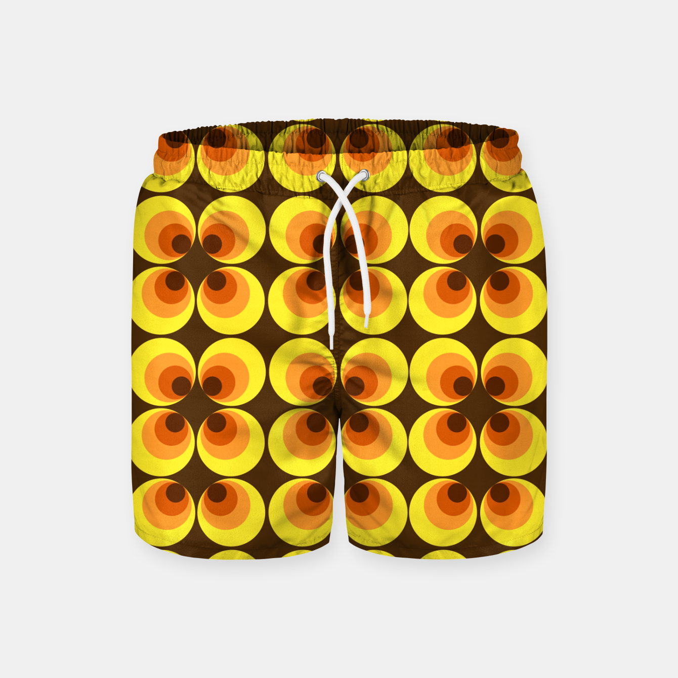Image of zappwaits retro Swim Shorts - Live Heroes