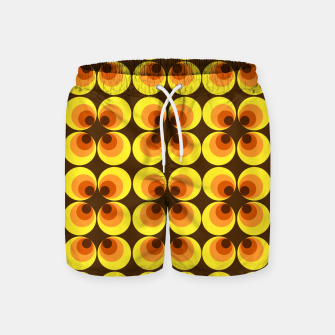 Thumbnail image of zappwaits retro Swim Shorts, Live Heroes