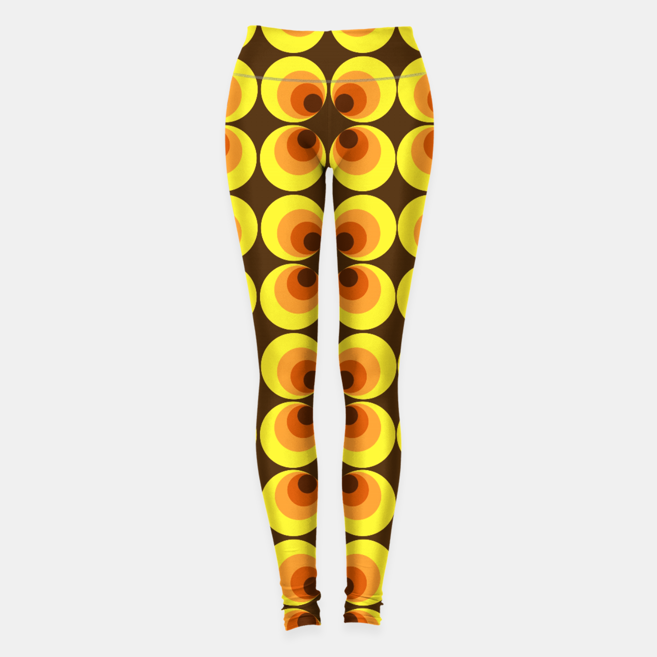 Image of zappwaits retro Leggings - Live Heroes
