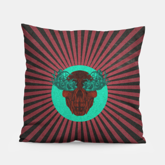 Miniatur Cry Stripes Pillow, Live Heroes