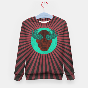 Thumbnail image of Cry Stripes Kid's sweater, Live Heroes